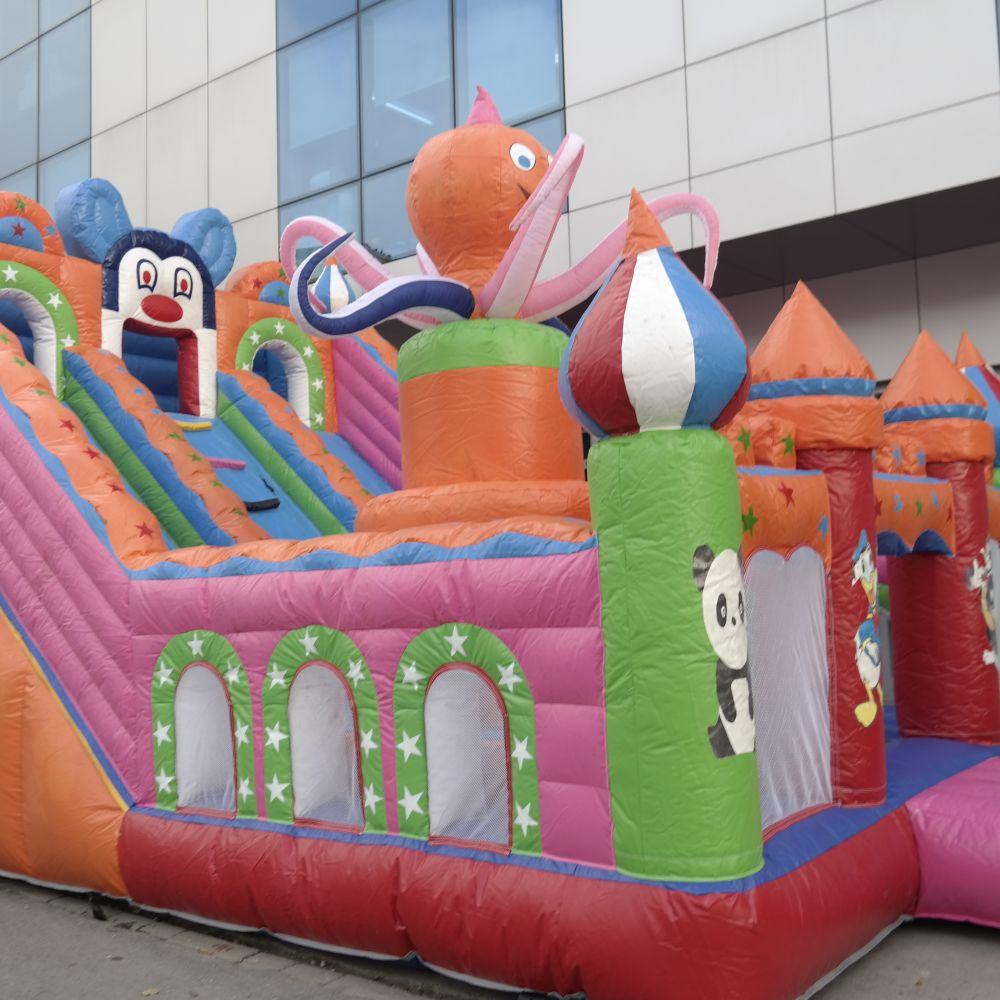 ahtapot oyun parkı 4 - Şişme Kale Oyun Parkı